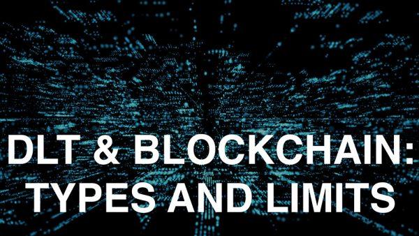 Affidaty - DLT, Blockchain: types and limits