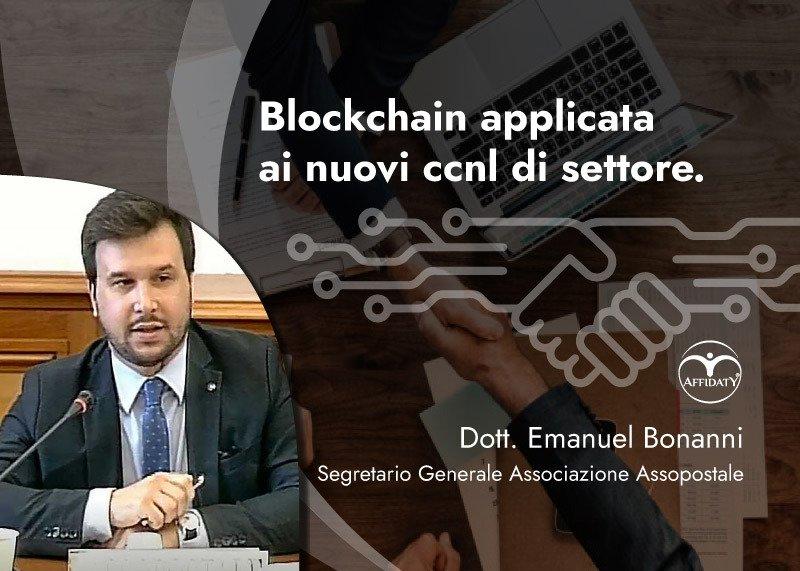 Affidaty - Blockchain applicata ai nuovi ccnl di settore