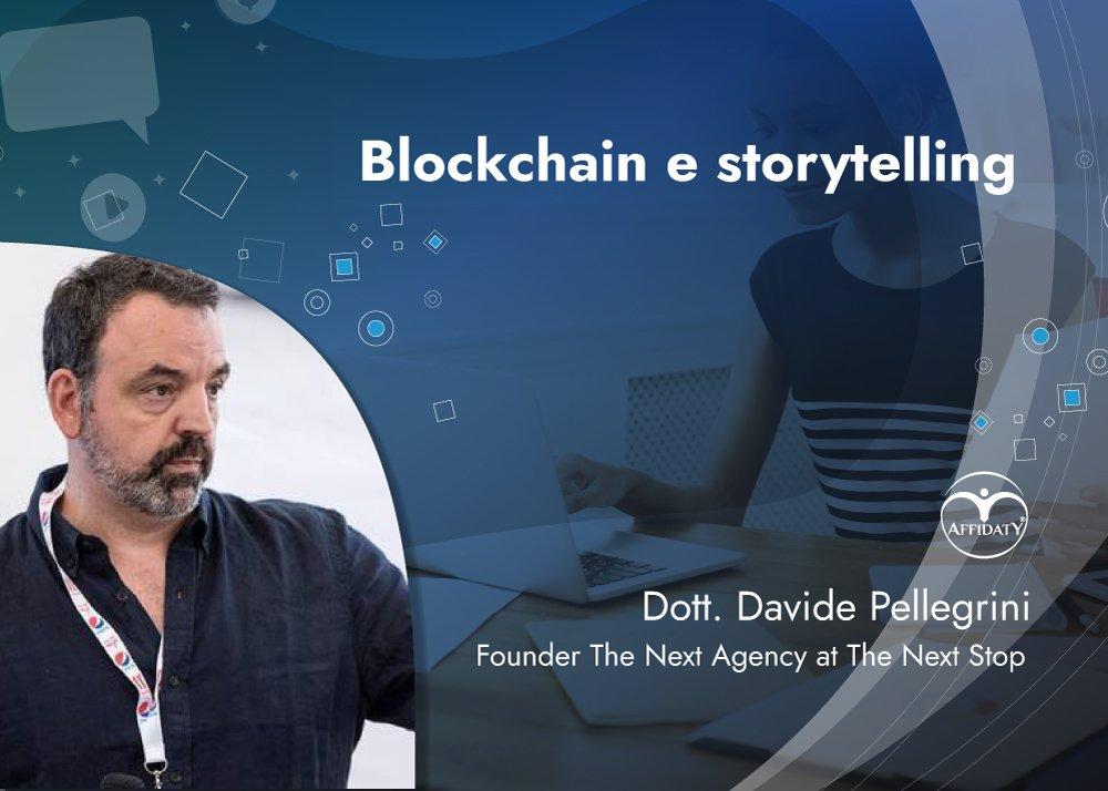 Affidaty - Storytelling in blockchain - Pellegrini
