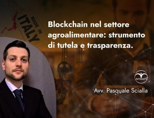 Applicazione Blockchain al settore agroalimentare: tutela e trasparenza