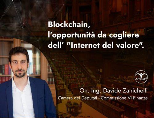 """Blockchain, l'opportunità da cogliere dell' """"Internet del valore"""""""