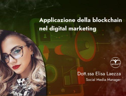 Applicazione della blockchain nel digital marketing.