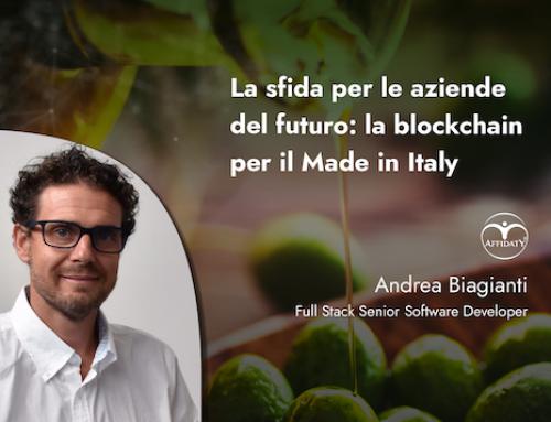 La sfida per le aziende del futuro: la blockchain per il Made in Italy