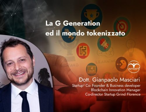 G Generation applicata a mondo tokenizzato e gamification.