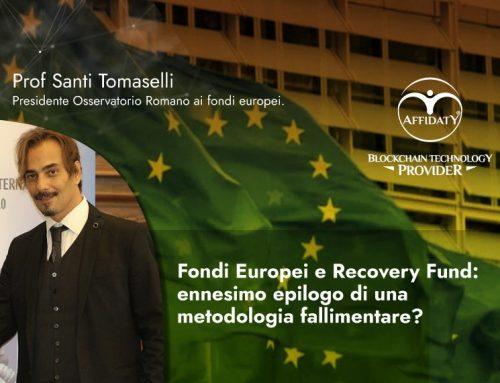 2.800 neo laureati assunti sulla gestione fondi EU Italia, ennesimo fallimento annunciato