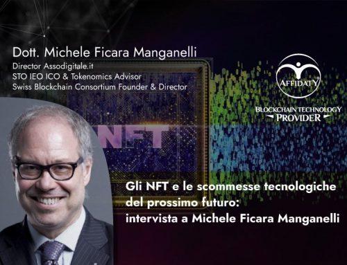 Gli NFT e le scommesse tecnologiche del prossimo futuro: intervista a Michele Ficara Manganelli