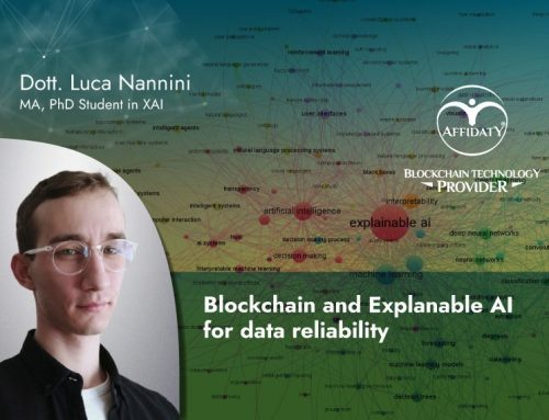 Blockchain and Explainable AI for data trustworthiness