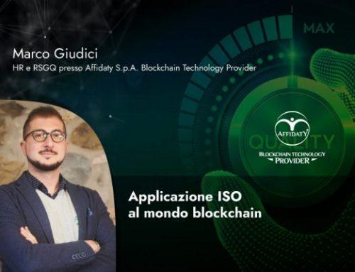 Applicazione ISO al mondo blockchain