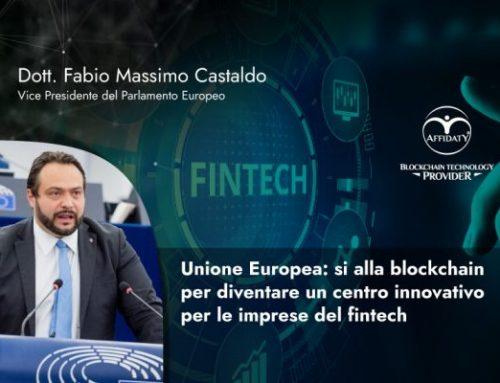 Unione Europea: si alla blockchain per diventare un centro innovativo per le imprese del fintech
