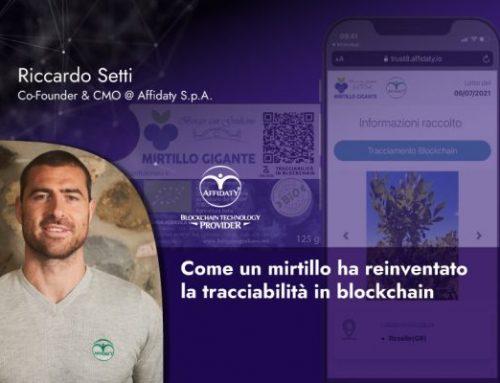 Come un mirtillo ha reinventato la tracciabilità in blockchain