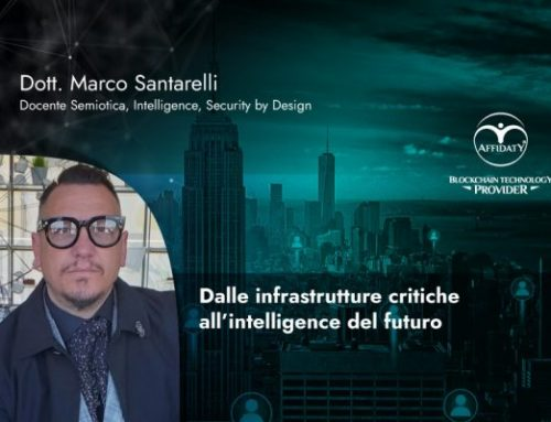 Dalle infrastrutture critiche all'intelligence del futuro