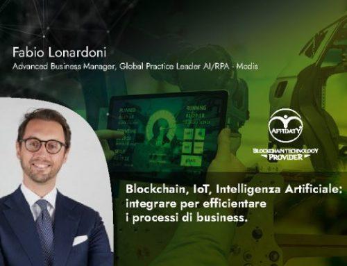 Blockchain, IoT, Intelligenza Artificiale: integrare per efficientare i processi di business.