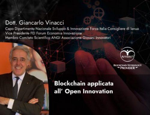 Blockchain applicata all' Open Innovation