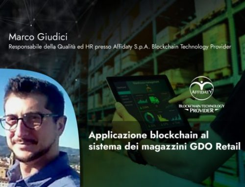 Applicazione blockchain al sistema dei magazzini GDO Retail