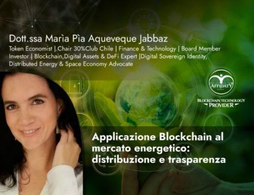 Applicazione Blockchain al mercato energetico: distribuzione e trasparenza