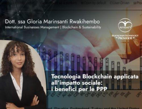 Tecnologia Blockchain applicata all'impatto sociale: i benefici per le PPP